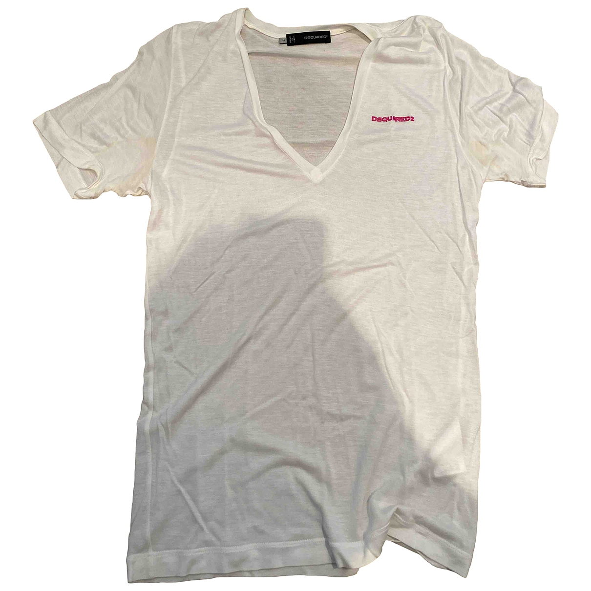 Dsquared2 \N White Cotton  top for Women M International