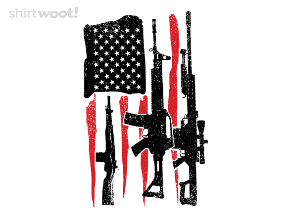 American Hero Flag T Shirt