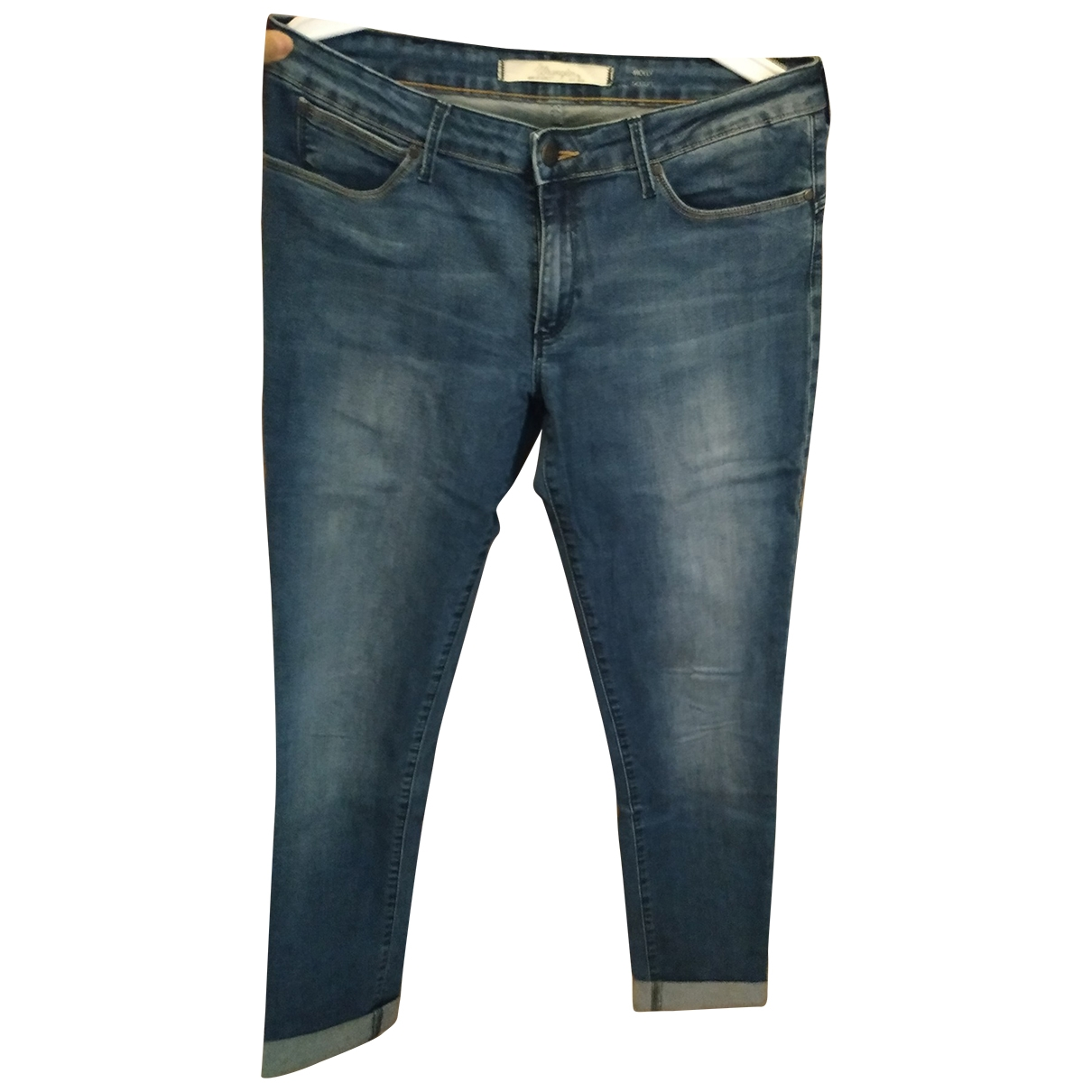 Wrangler \N Blue Cotton - elasthane Jeans for Women 31 US