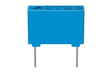 EPCOS 2.2nF Polypropylene Capacitor PP 1kV dc ±5% Tolerance B32621 Series (10)