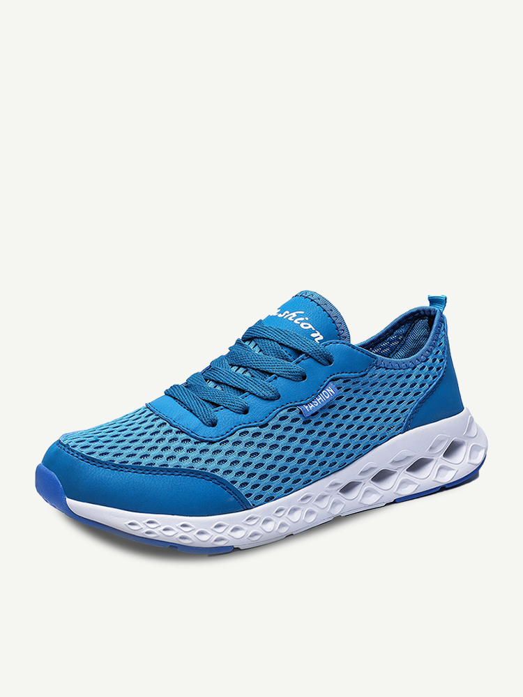 Men Sports Mesh Breathable Light Weight Casual Running Sneakers