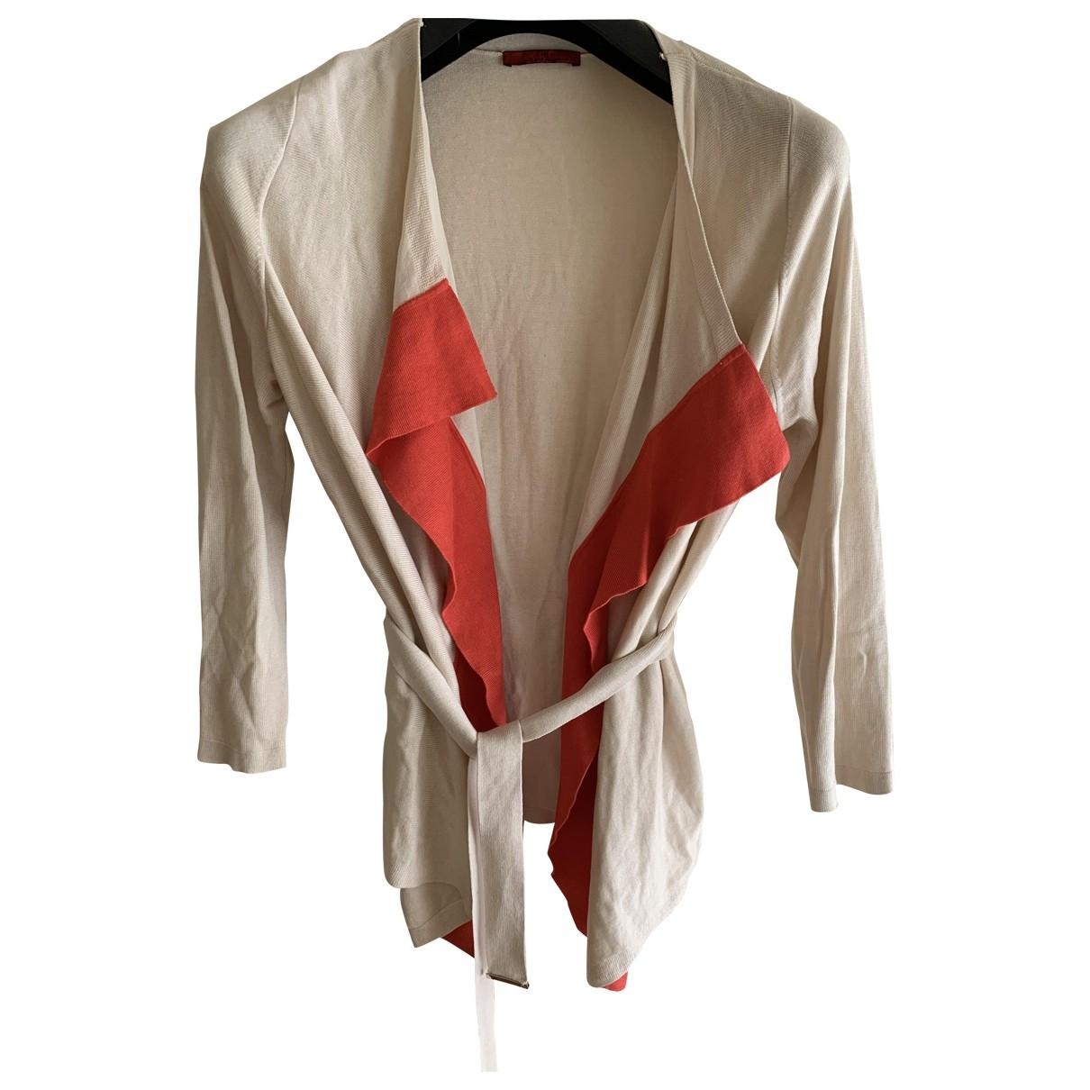 Carolina Herrera \N Beige Cotton Knitwear for Women L