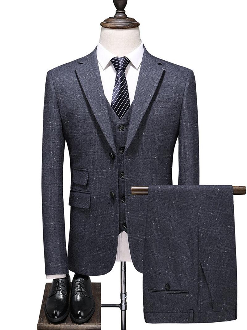 Ericdress Zipper Fashion Men's Dress Suit