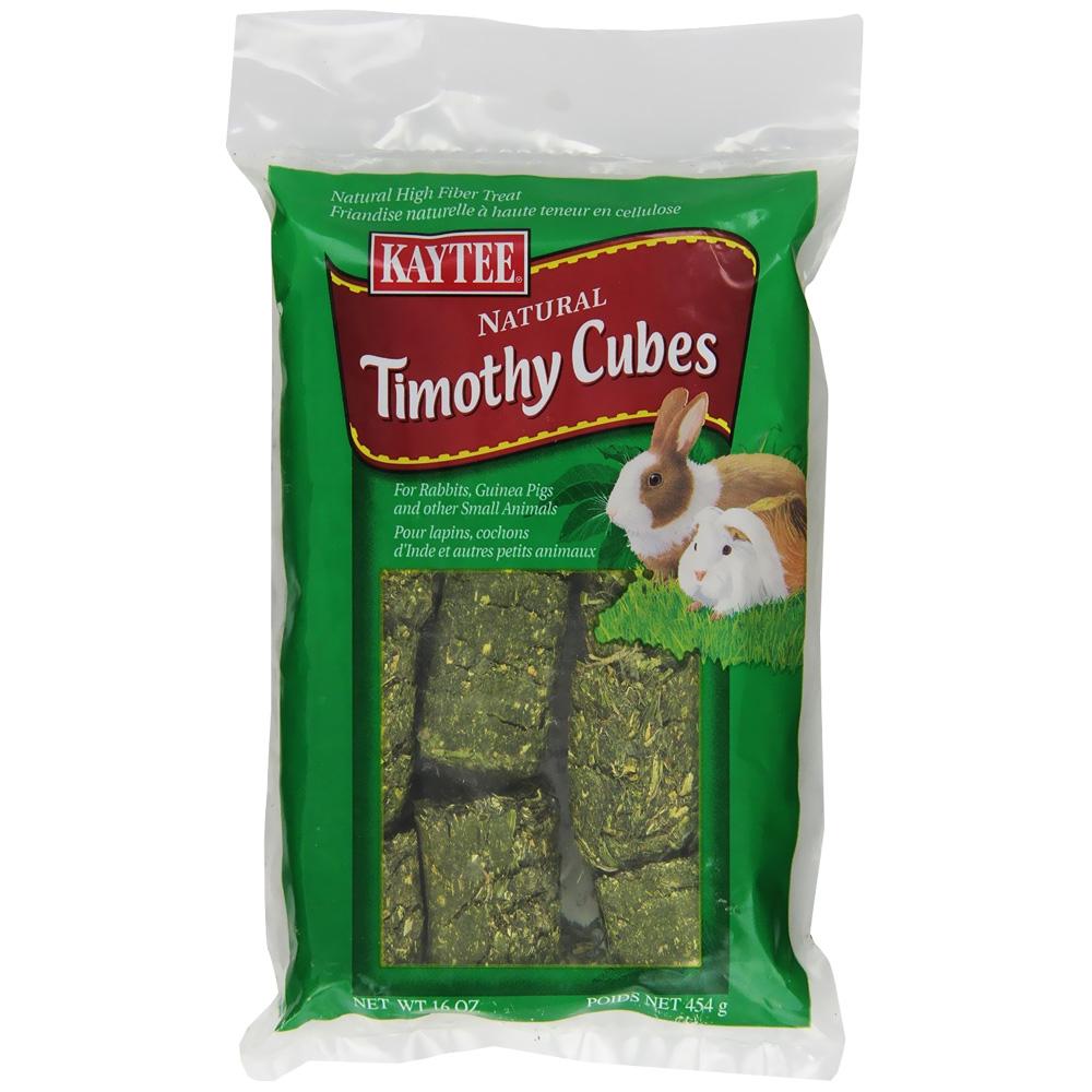 Kaytee Timothy Cubes Small Animal Treats (1 lbs)
