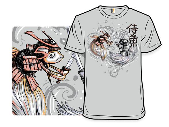 Japanese Fighting Fish Remix T Shirt