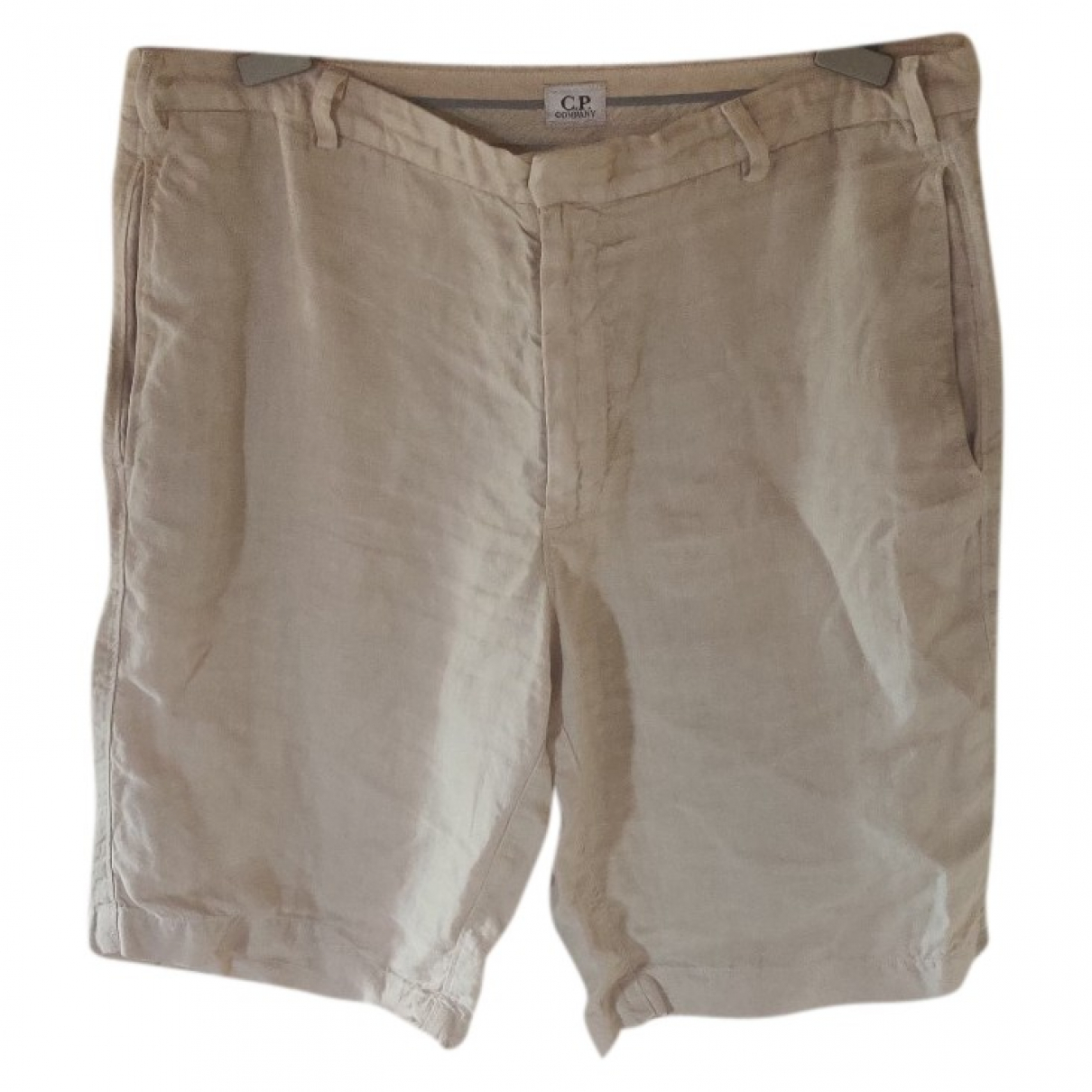 Cp Company \N Beige Cotton Shorts for Men 54 IT