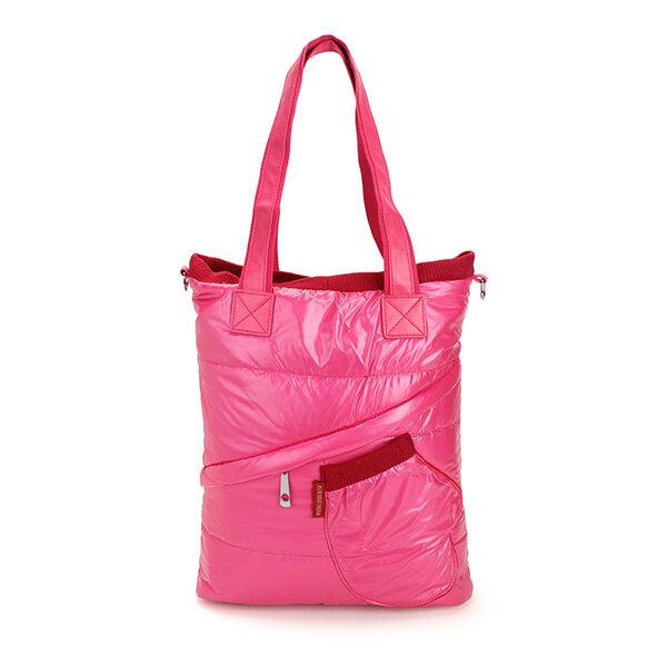 Women Winter Casual Down Feather Handbag