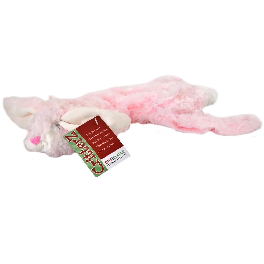 Otis & Claude CritterZ Stuffing Free Dog Toys - Rabbit (14)