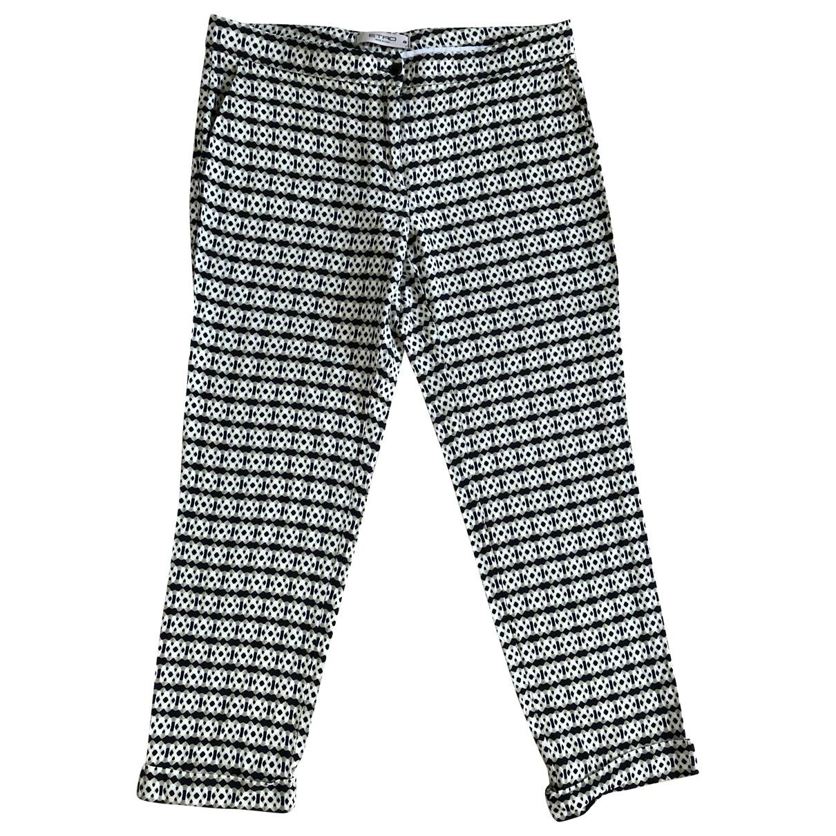 Etro \N Trousers for Women 48 IT