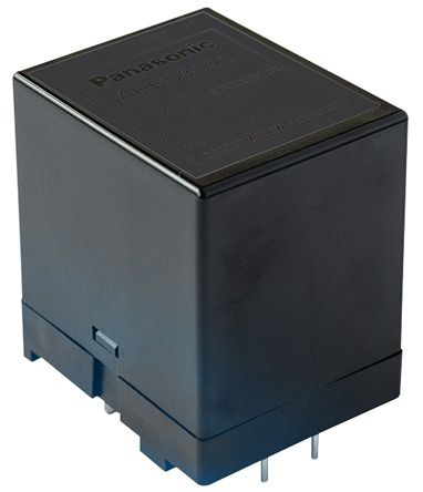 Panasonic , 24V dc Coil Non-Latching Relay DPNO, 35A Switching Current PCB Mount, 2 Pole (25)