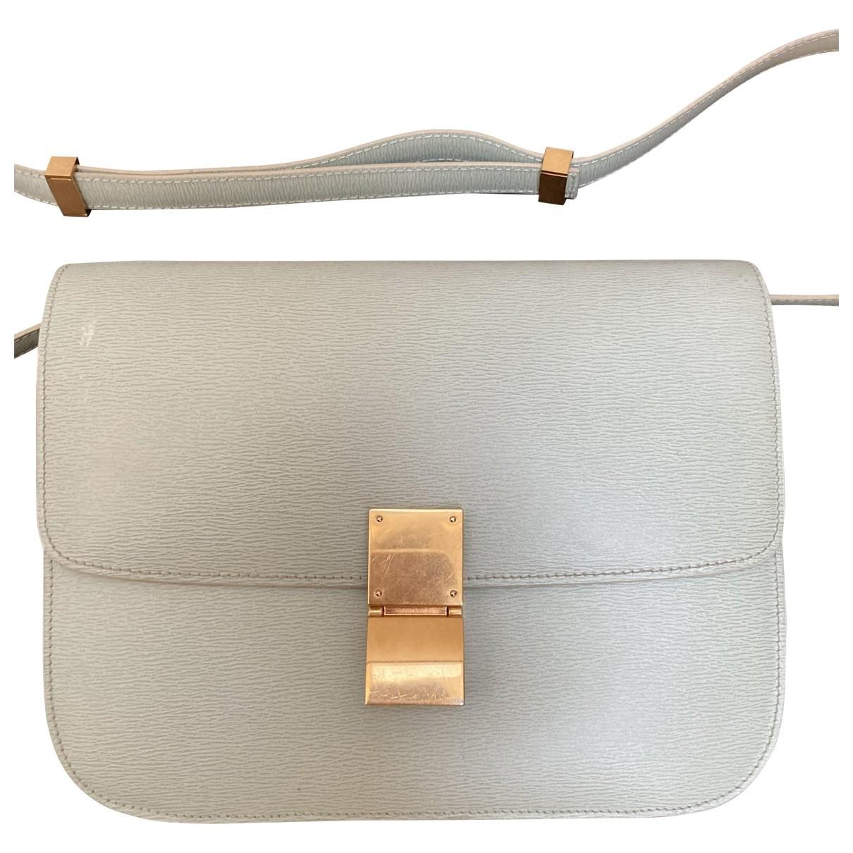 Celine Classic Green Leather handbag for Women \N