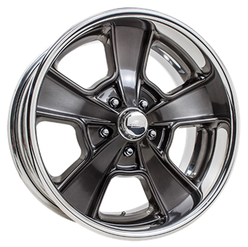 Billet Specialties VDS71S225Custom Knuckle Dish Smoke Clear Coat 22x10.5 Wheel