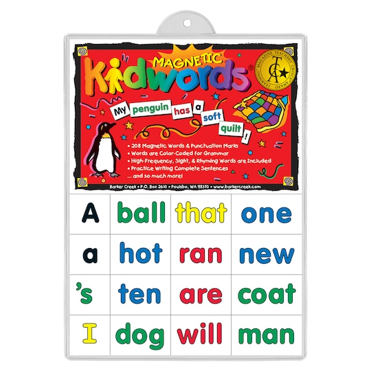 Barker Creek® Learning Magnets® High-Frequency Words | Michaels®