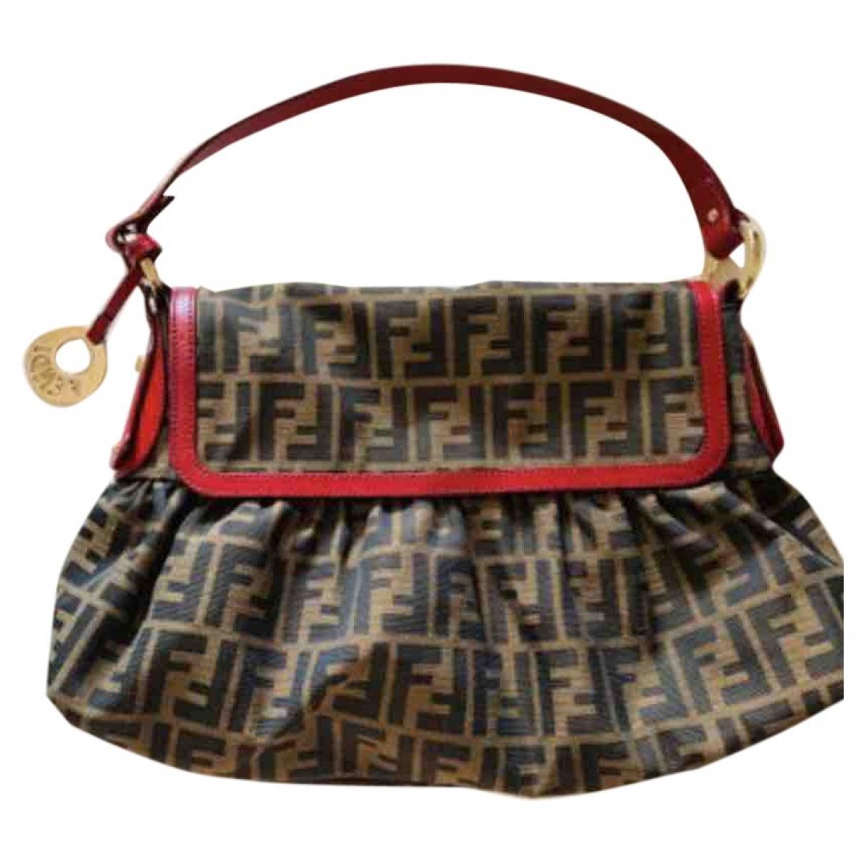 Fendi Chef  Brown Cloth handbag for Women \N