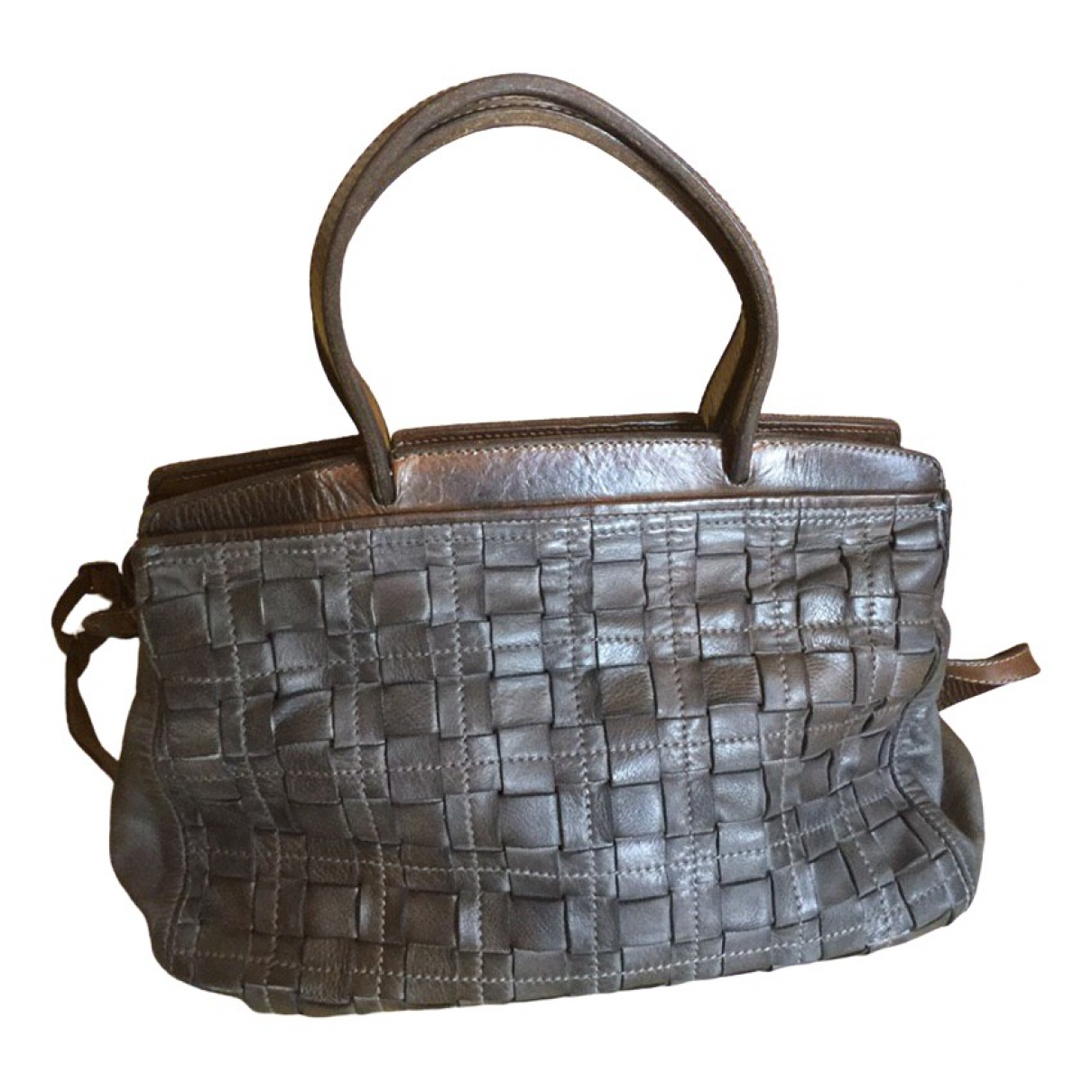 Reptile's House \N Multicolour Leather handbag for Women \N