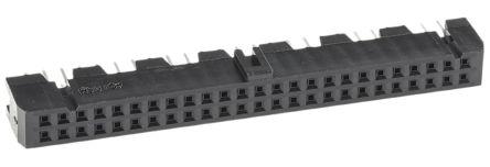 Hirose , HIF3FB 2.54mm Pitch 50 Way 2 Row Straight PCB Socket, Through Hole, Solder Termination
