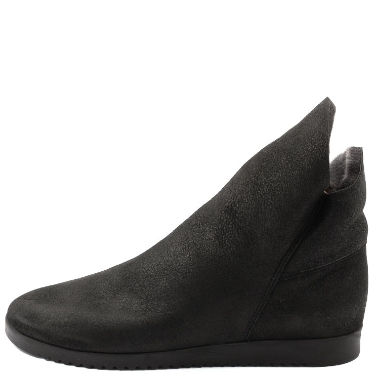 Arche, Baosha Women's Lambskin Slip-on Shoes, black Gre 38