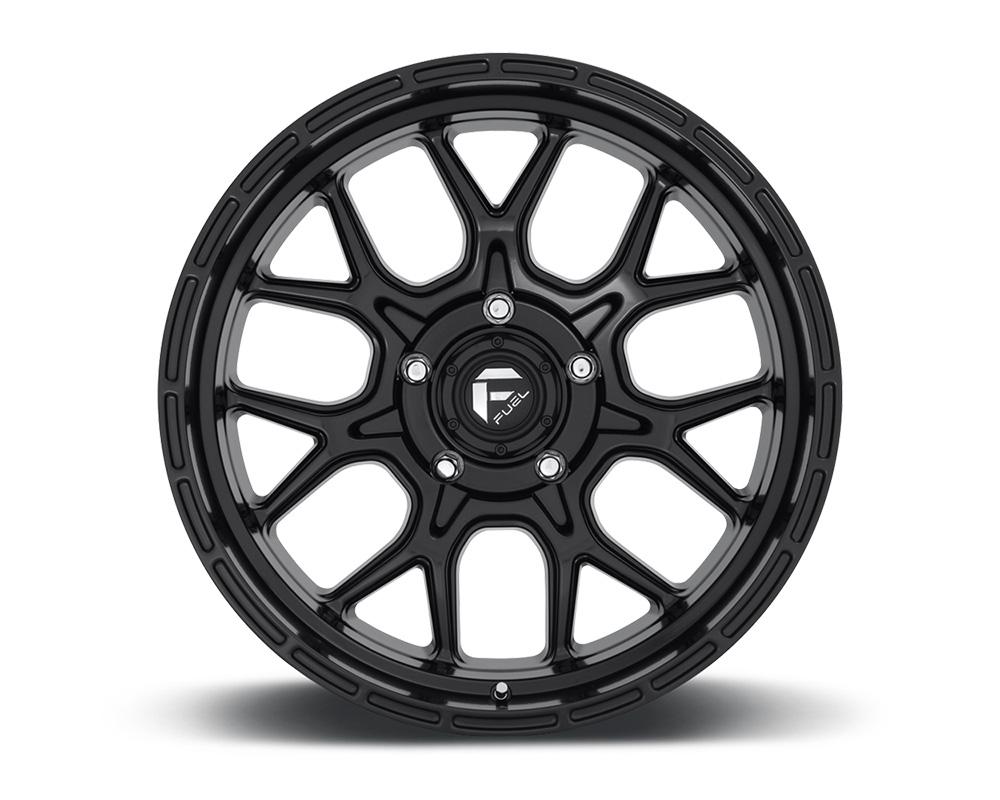 Fuel D670 Tech Matte Black 1-Piece Cast Wheel 20x10 5x127 -18mm