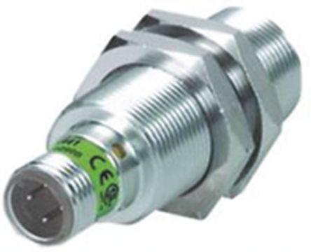 Turck M18 x 1 Inductive Sensor - Barrel, PNP-NO Output, 8 mm Detection, IP67, M12 - 4 Pin Terminal