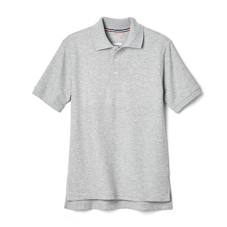 French Toast Toddler Boys Short Sleeve Polo Shirt, 4t , Gray