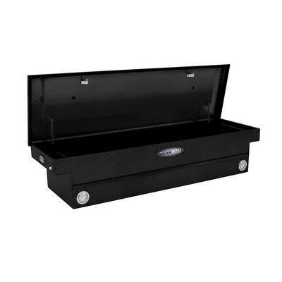 Lund Commercial Pro Aluminum Cross Storage Box (Black) - 707800