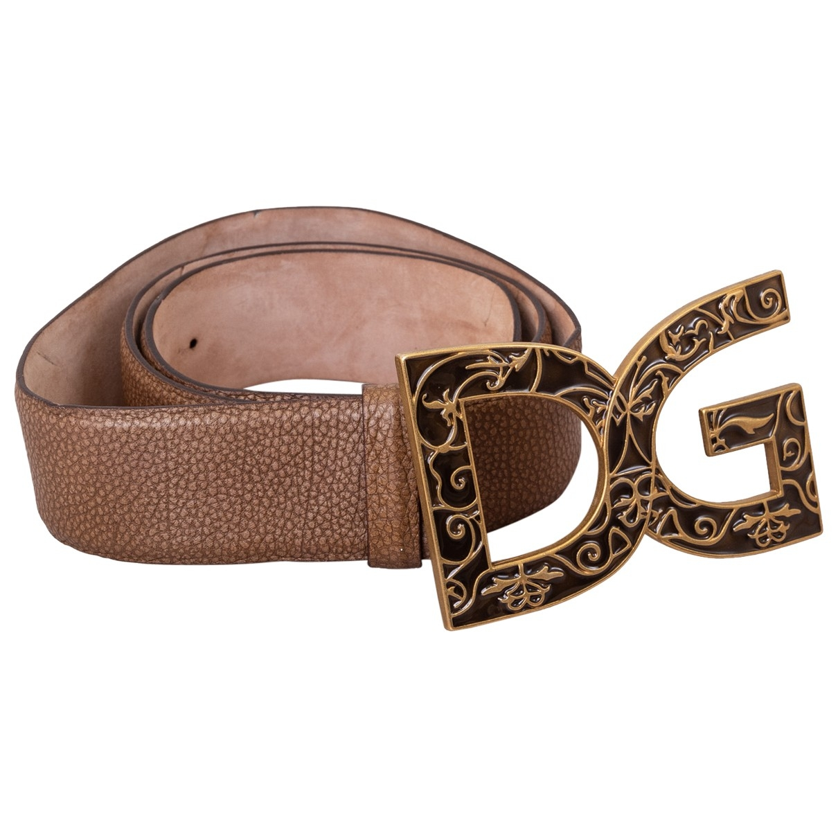 Dolce & Gabbana \N Brown Leather belt for Women M International