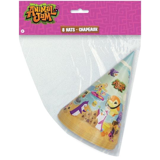 Animal Jam Party Hats, 8Ct   Michaels®