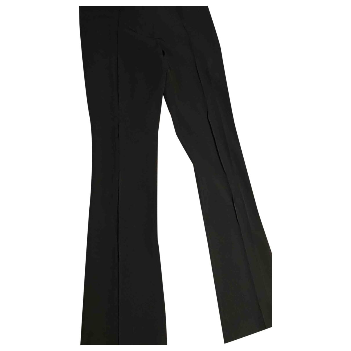 Elisabetta Franchi \N Black Trousers for Women 44 IT