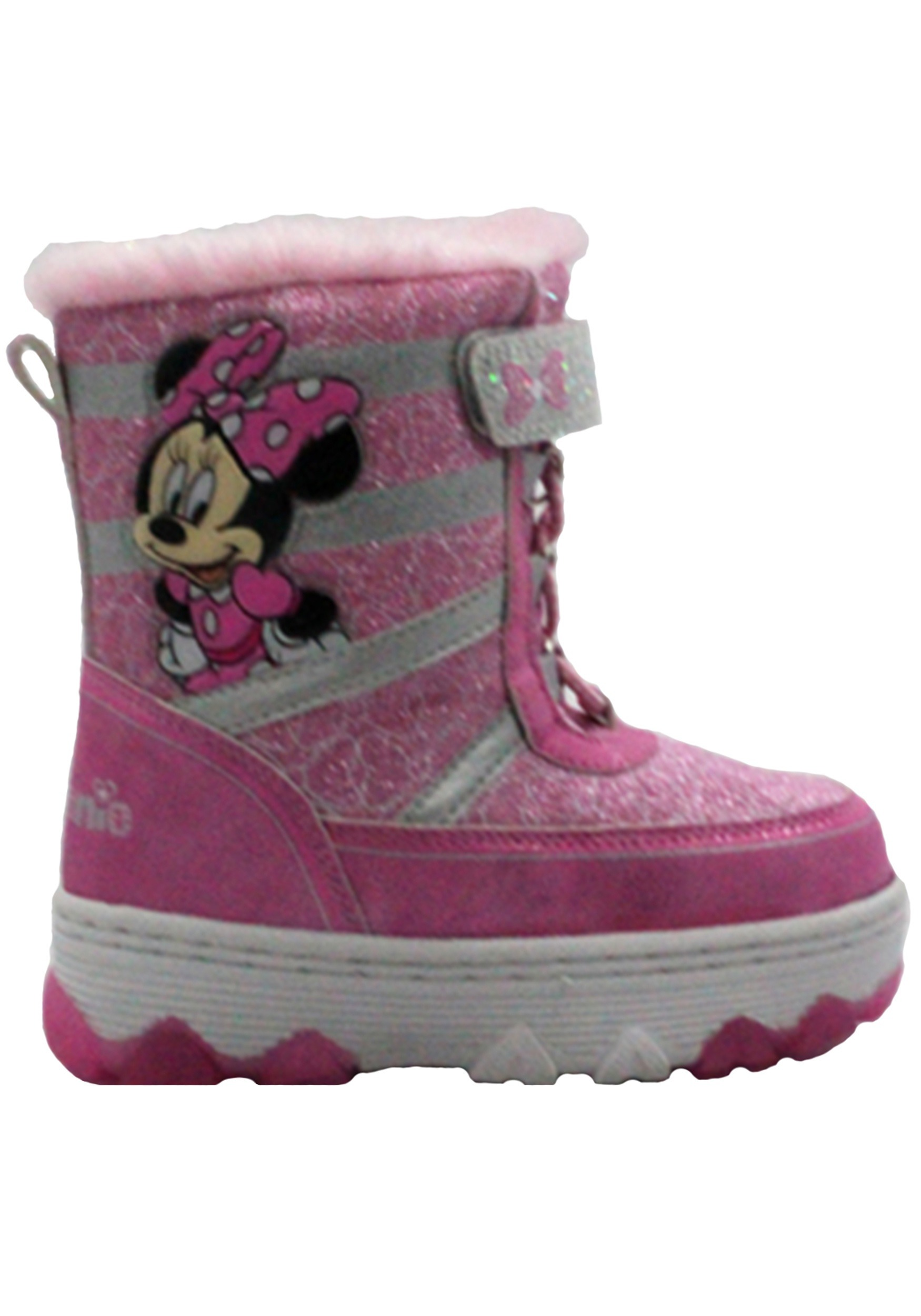 Minnie Mouse Child Pink Snow Boot