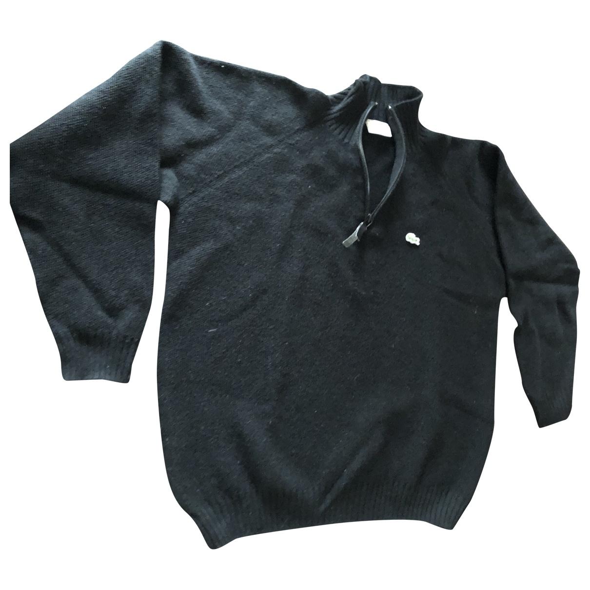 Lacoste \N Black Wool Knitwear & Sweatshirts for Men 6 0 - 6