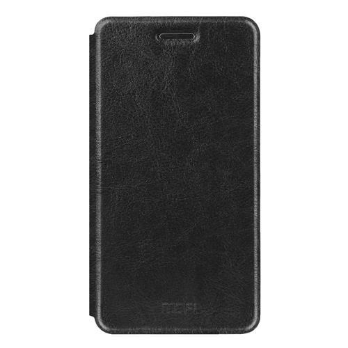 Black Xiaomi Mi 5S Leather Case MOFI Flip Stand Protective Cover Screen Protector