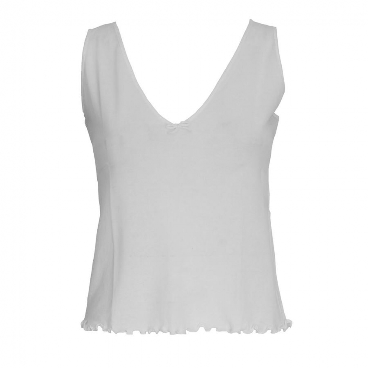 Gucci \N White Cotton  top for Women 42 IT