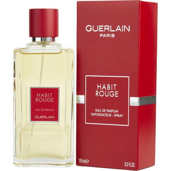Guerlain - Habit Rouge : Eau de Parfum Spray 3.4 Oz / 100 ml