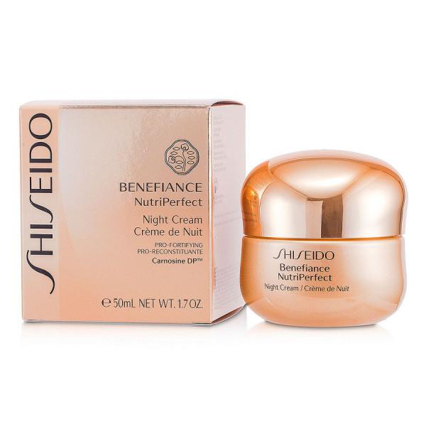 Shiseido - Benefiance NutriPerfect - Crème de Nuit : Cream 1.7 Oz / 50 ml
