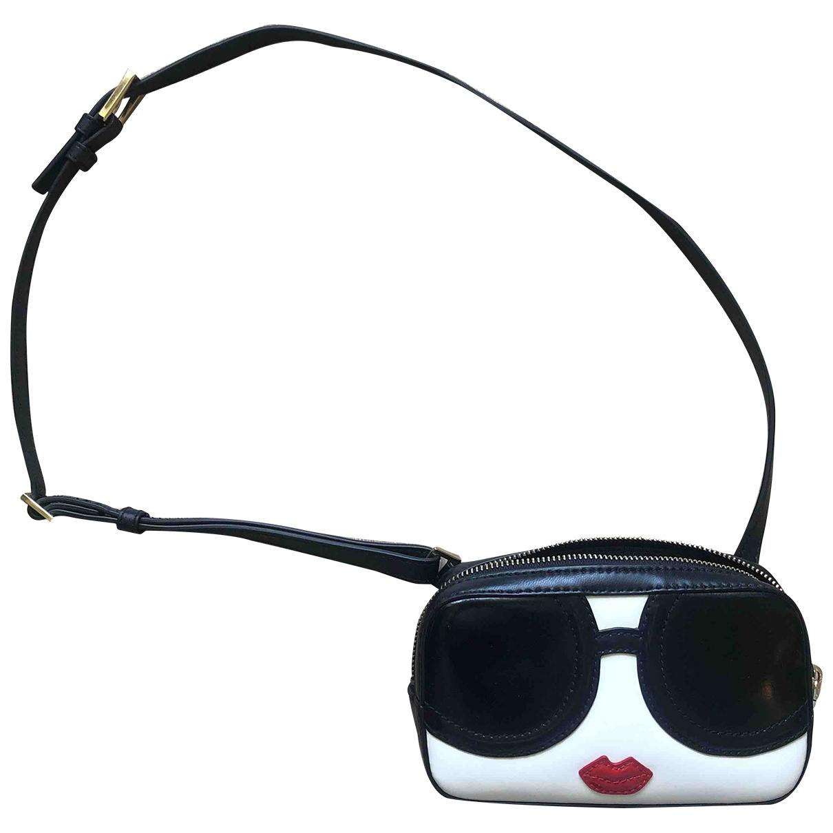 Alice & Olivia \N Black Leather handbag for Women \N