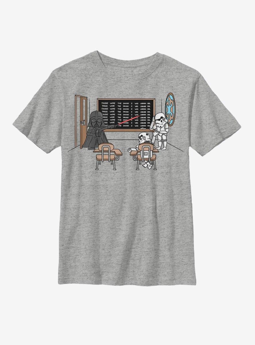Star Wars Chalkboard Repeat Youth T-Shirt