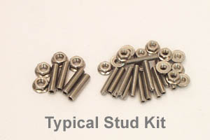 Canton Racing Products 22-360 302/351 W/Cleveland/Bbf Oil Pan Stud Kit