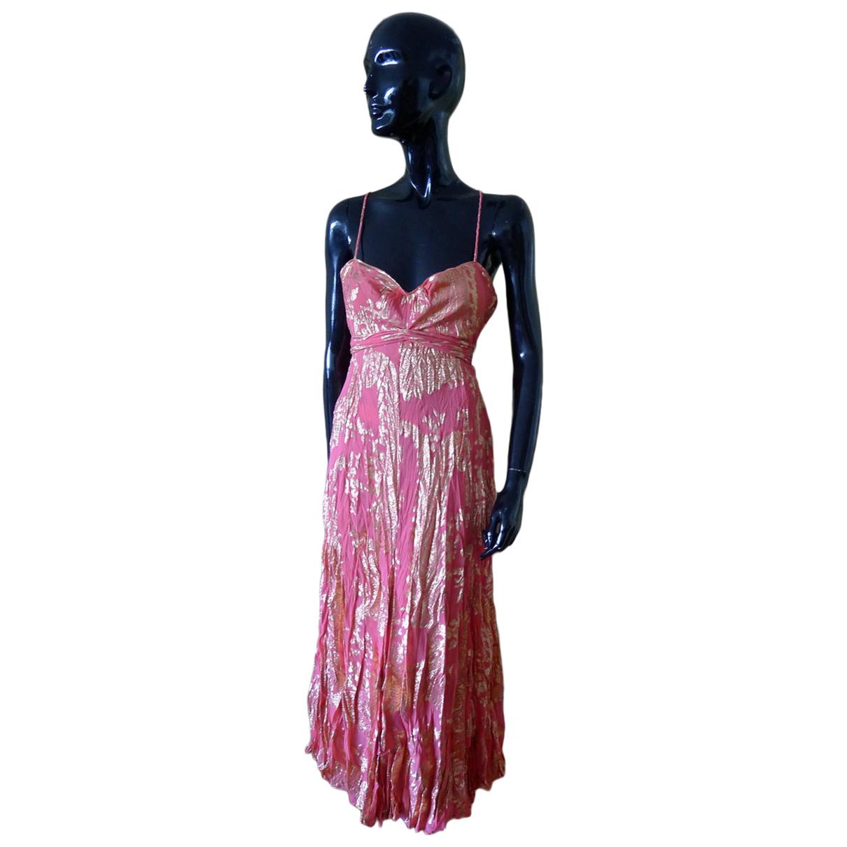 Diane Von Furstenberg \N Pink Silk dress for Women 4 US