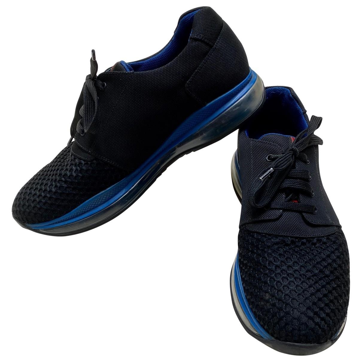 Prada \N Black Cloth Trainers for Men 11 US