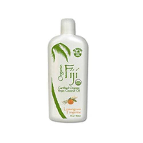 Lemongrass Tangerine Coconut Oil 12 Oz by Organic Fiji