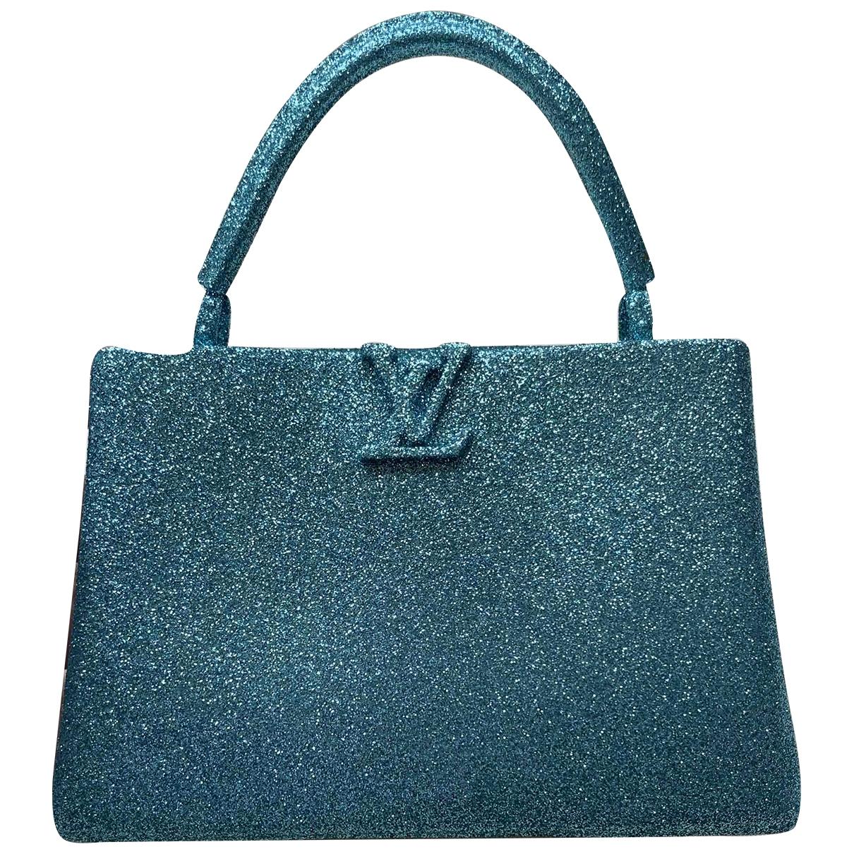 Louis Vuitton \N Blue Glitter Bag charms for Women \N