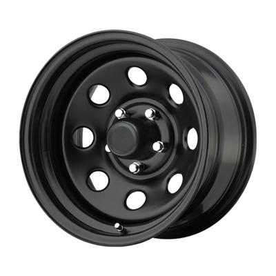 Pro Comp 97 Series Rock Crawler, 17x8 Wheel with 5 on 5 Bolt Pattern - Flat Black - 97-7873F