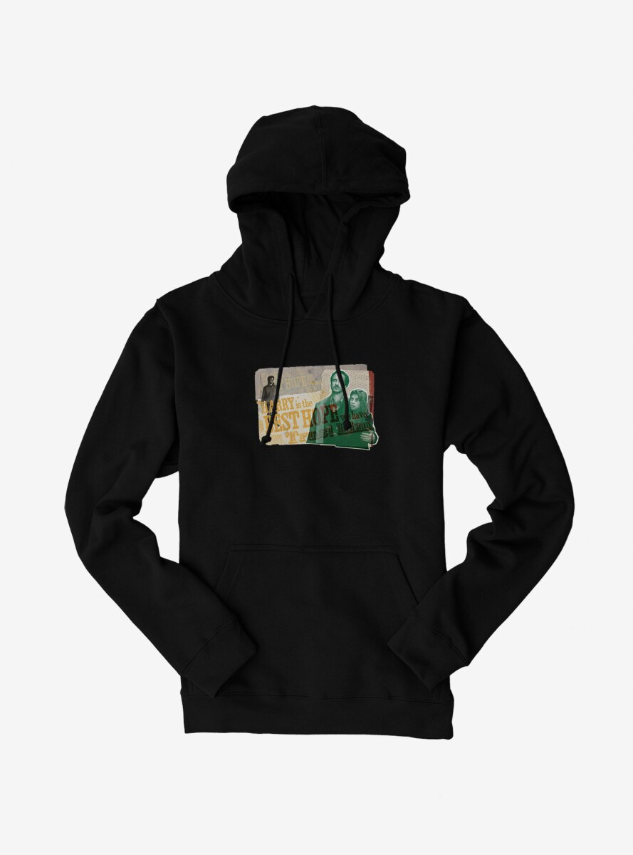 Harry Potter The Best Hope We Have Collage Hoodie