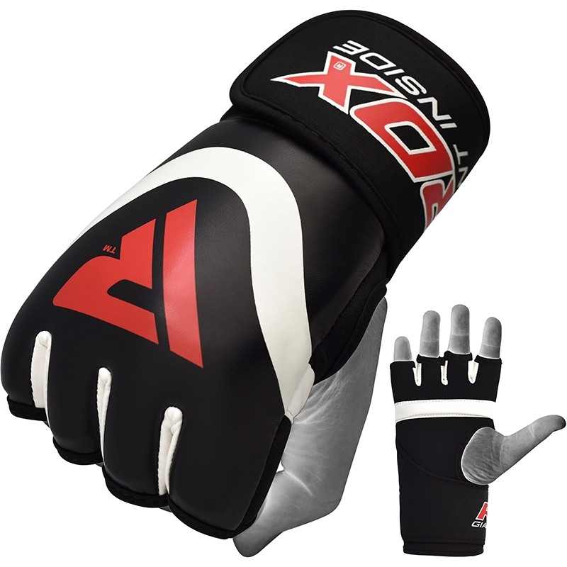 RDX X7 Gel Padded Inner Gloves Hook and Loop Wrist Strap for Boxing and MMA