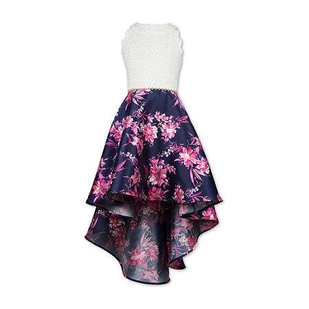 Speechless Big Girls Embellished Sleeveless Party Dress, 16 , Beige