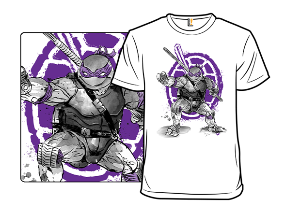 Purple Ninja T Shirt