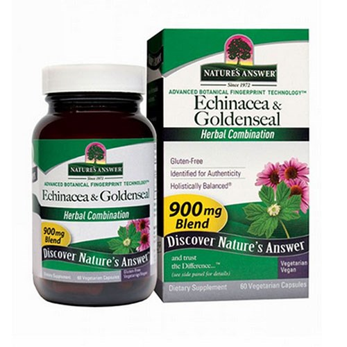 Echinacea-Goldenseal 60 Vcaps by Nature's Answer