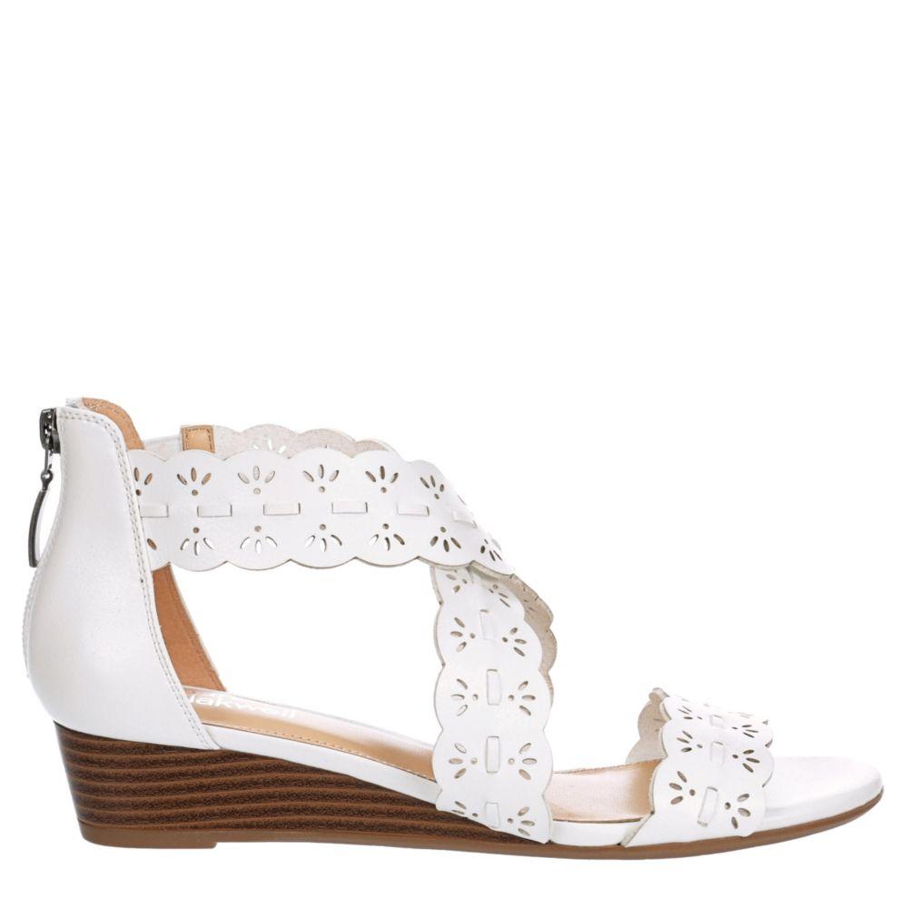 Lauren Blakwell Womens Blythe Wedge Sandal