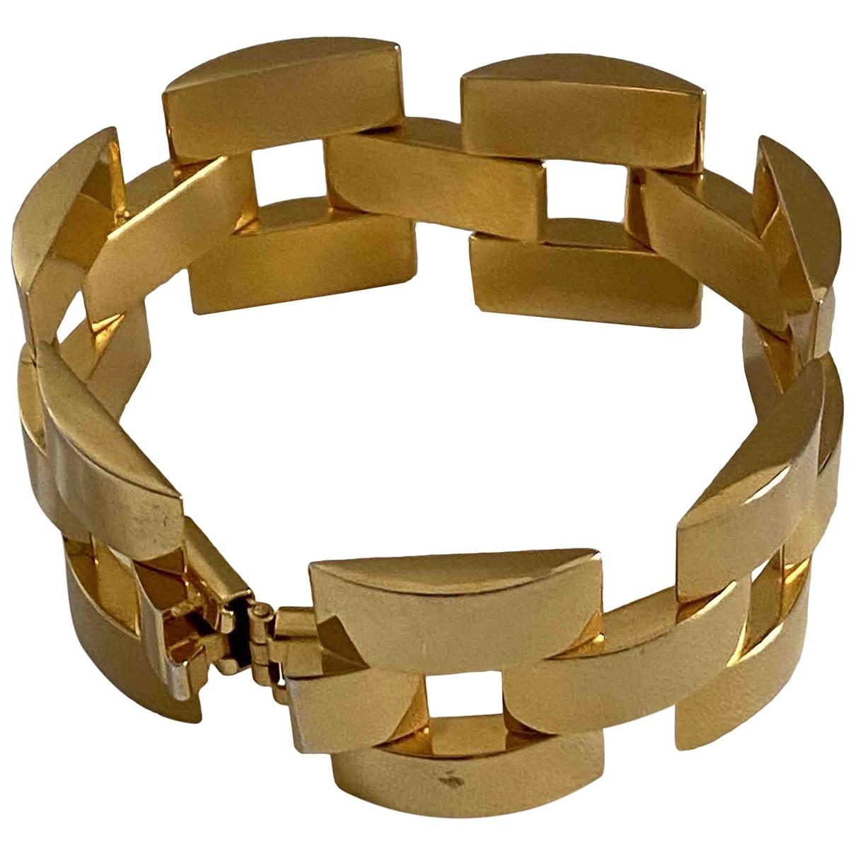 Poggi \N Gold Gold plated bracelet for Women \N