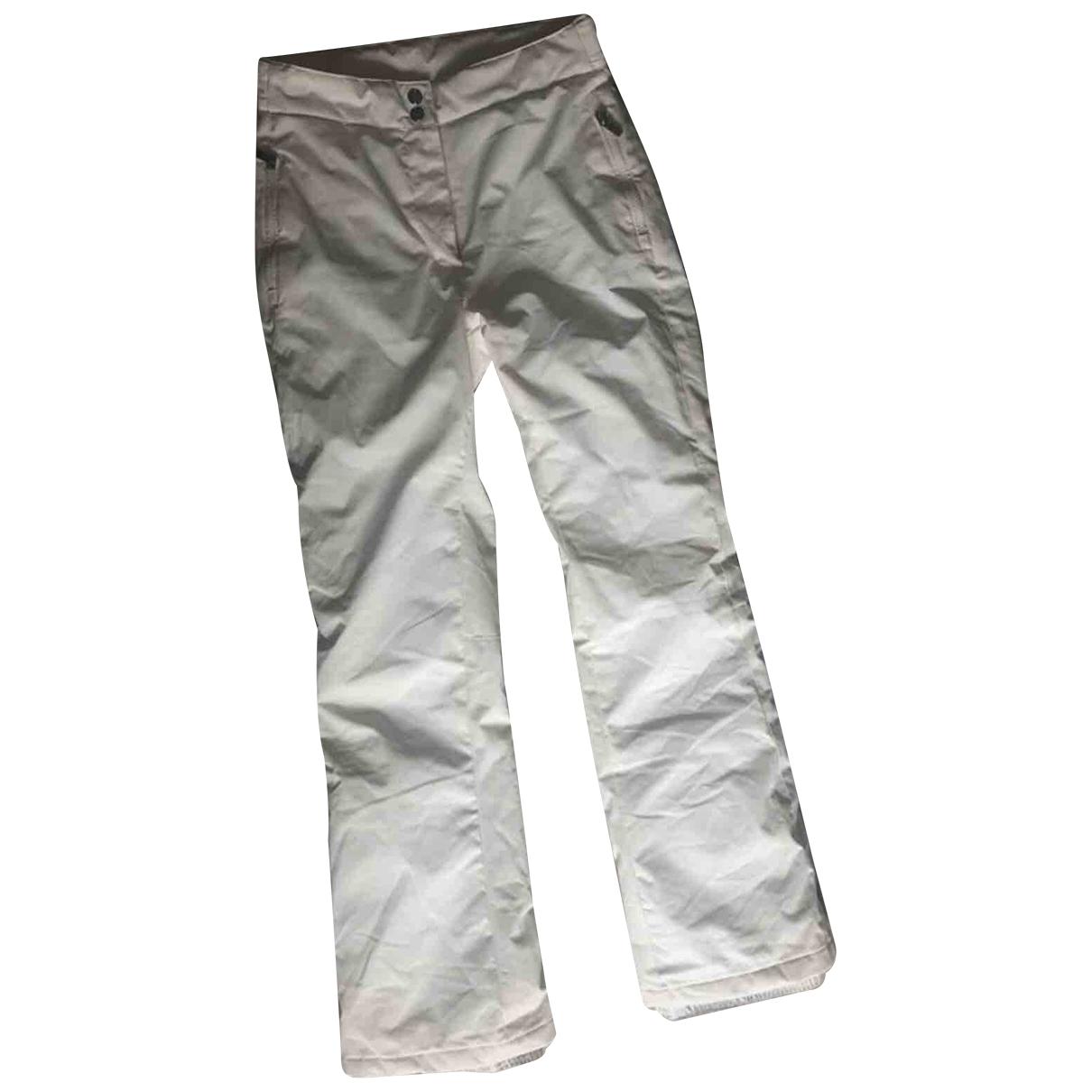 Fusalp \N White Trousers for Women 36 FR